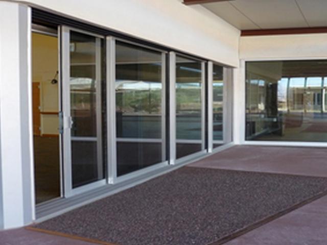 Gallery for Multi track sliding glass doors