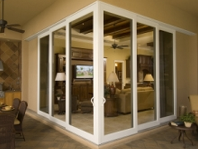 Gallery for Double sliding patio doors
