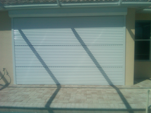 Rolling Down Shutter Guardian Hurricane Protection