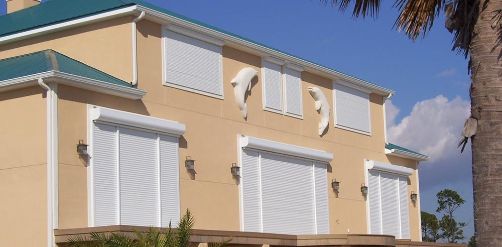 Rolling Down Shutter Guardian Hurricane Protection