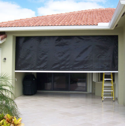 Hurricane Fabric Screen