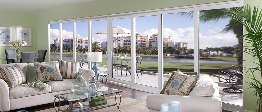 Impact Sliding Glass Doors Guardian Hurricane Protection