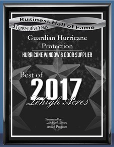 Guardian Hurricane Protection Best Hall of Fame - Lehigh Acres 2017