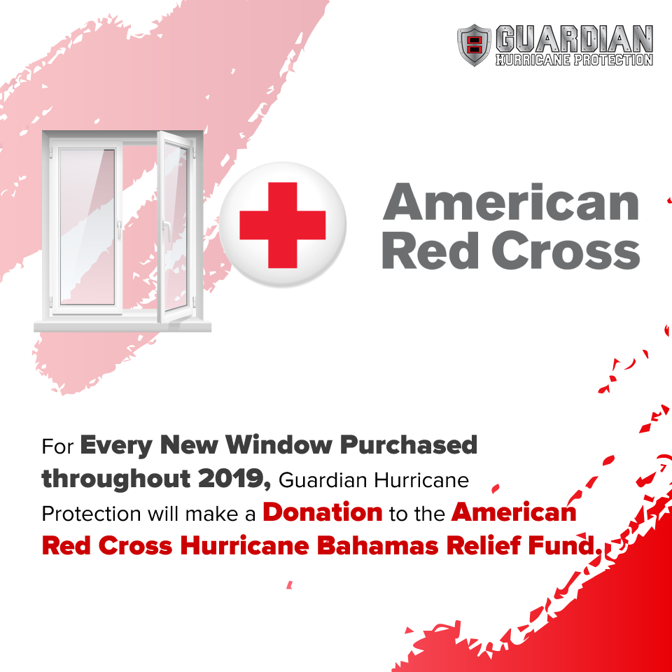 Guardian Hurricane Protection Red Cross Bahama Relief Fund